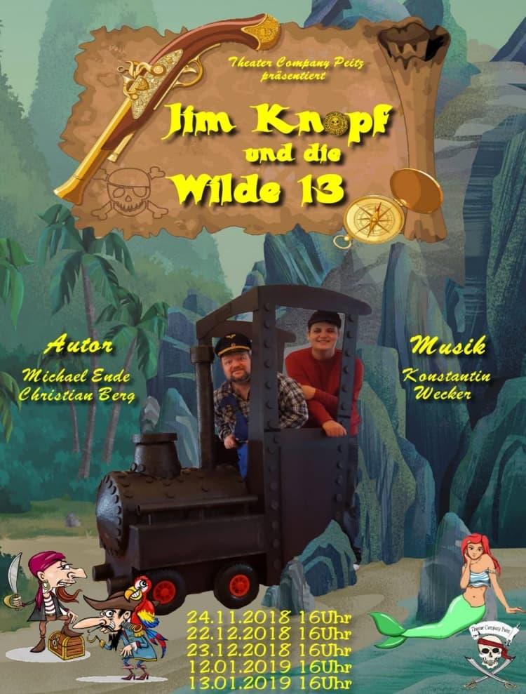 Jim Knopf und die Wilde 13 Plakat